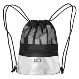 LAST ONE Victoria's Secret drawstring backpack